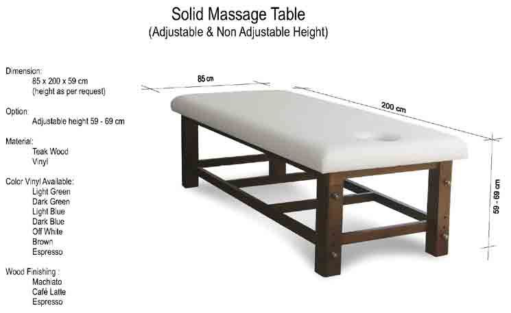 Solid Massage Table In 2020 Massage Table Massage Room Decor