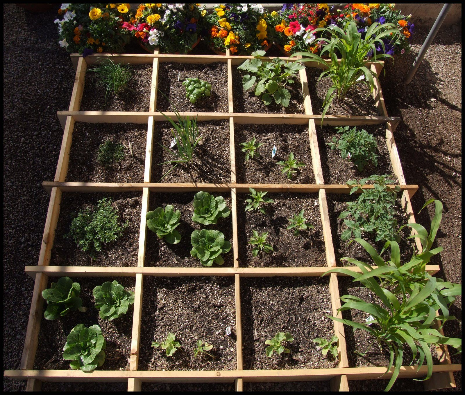 Warmer weather has me thinking about some square foot gardening for ...