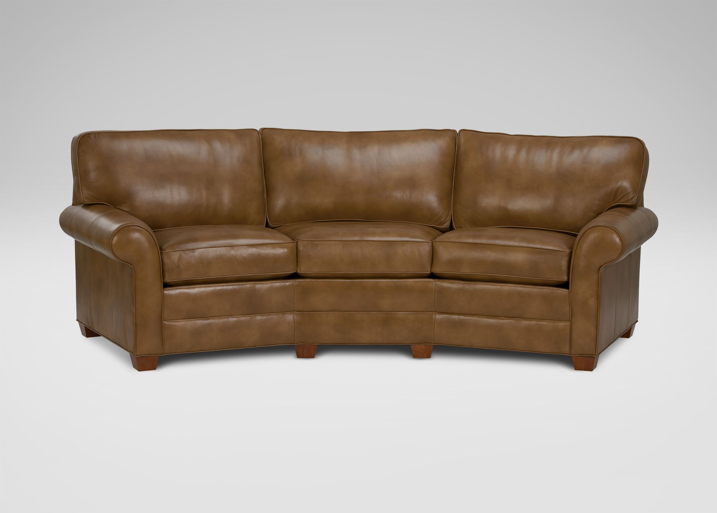 Chat It Up In The Conversation Sofa That Boasts A Gracefully Curved  Silhouette And Offers Ample