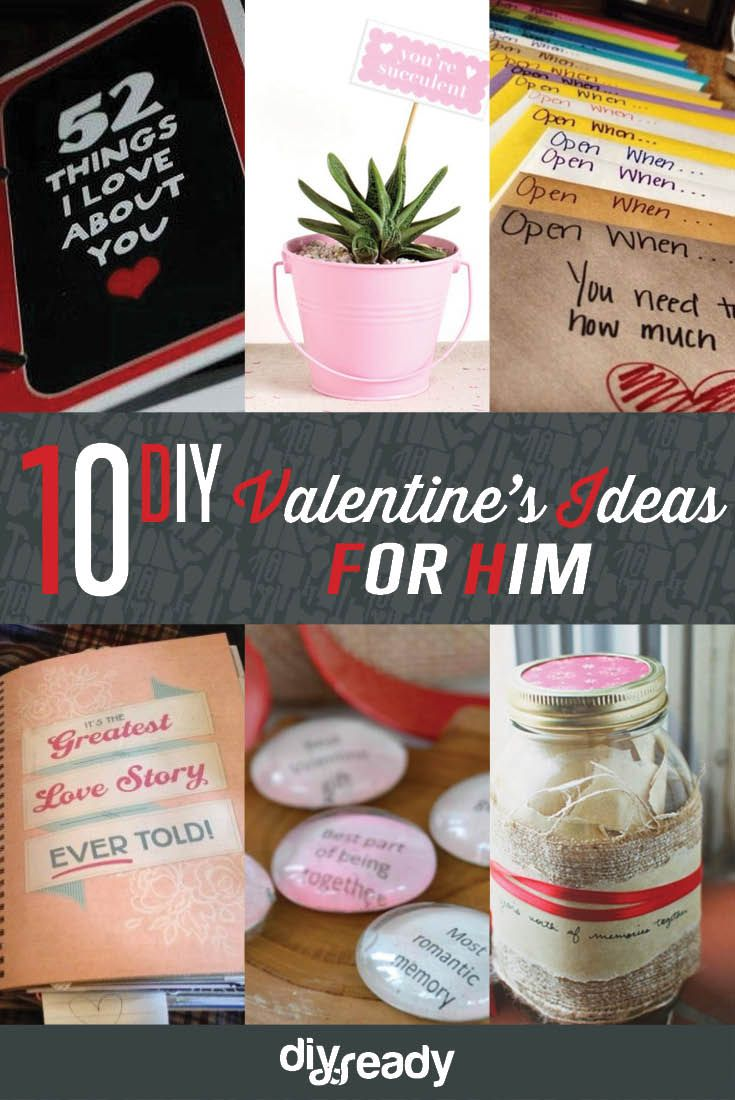 Valentines Day Ideas For Him Cute And Creative Diy Gifts That Will Melt His Heart