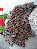 The Middle Drawer: Crocheting a Prayer Shawl #prayershawls