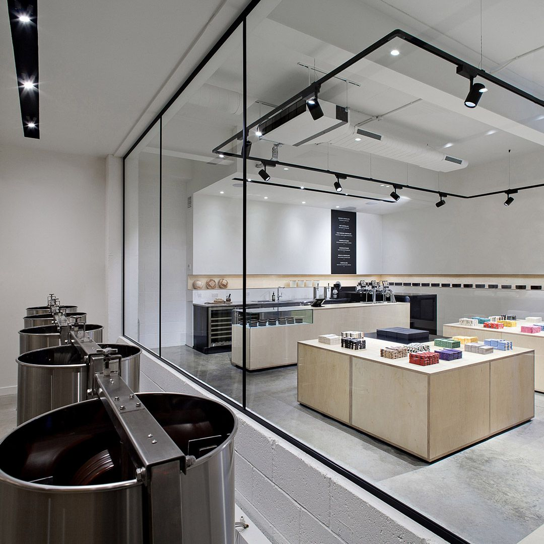 Mast Brothers London Ladeninneneinrichtung Cafe Design Ladenbau