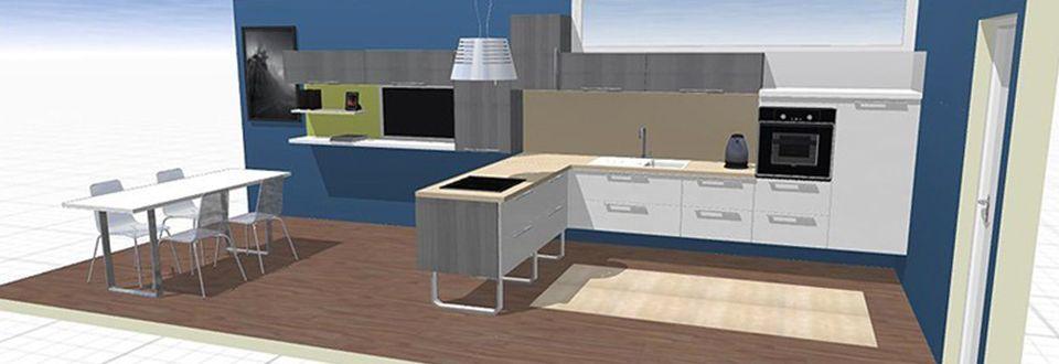 Paroi de douche LINE grand espace - logiciel 3d maison gratuit