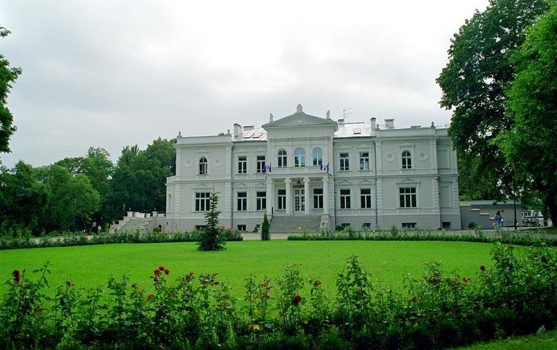Lubomirski Palace. Bialystok, Poland,