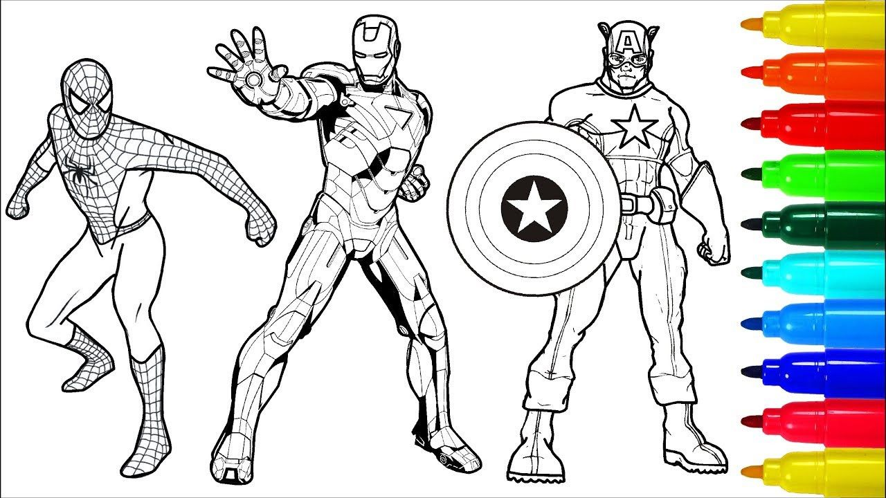 Pin On 30 Iron Man Coloring Pages