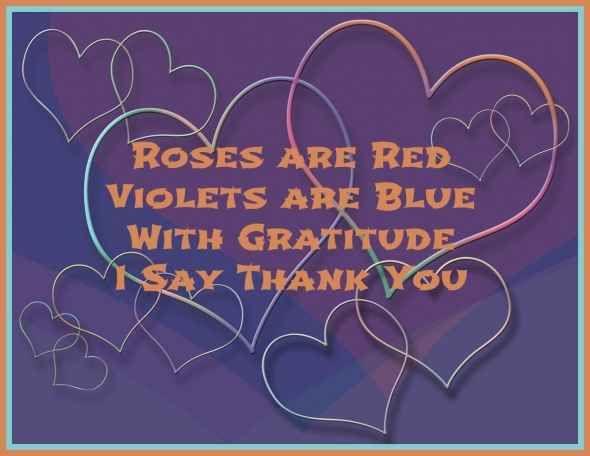 Short love appreciation poems