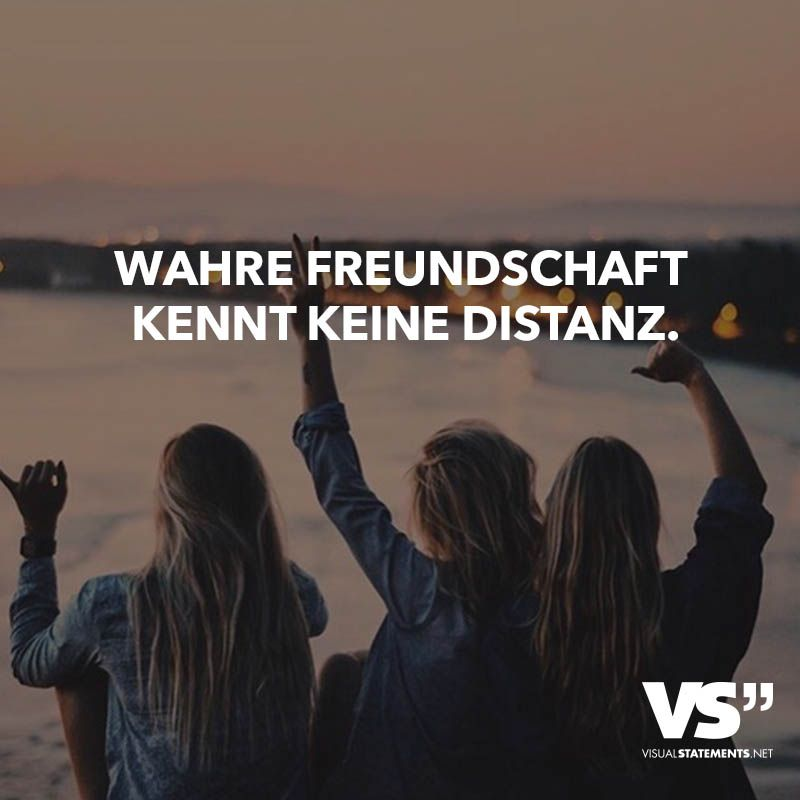Wahre Freundschaft kennt keine Distanz | 2017!:)