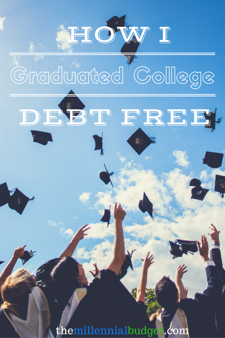 How I Graduated College Debt Free Financial aid for