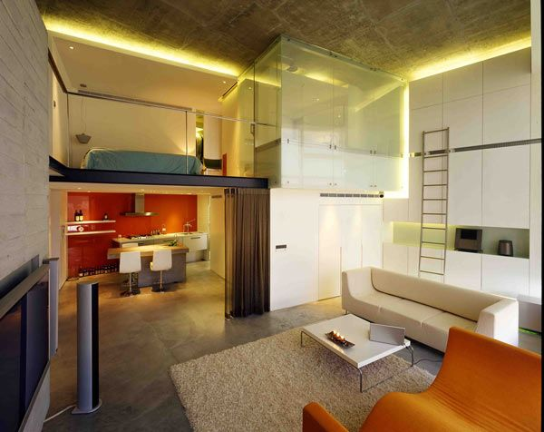 Another Small Space Well Designed, And Executed, Also Slightly Minimalist. Loft  DesignLoft ...