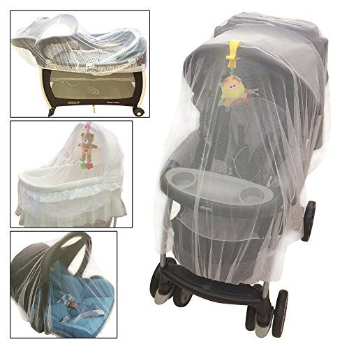 Crocnfrog Baby Mosquito Net For Strollers Carriers Cradles Car Seats Designed Cribs Bassinets Most PacknPlays Playpens