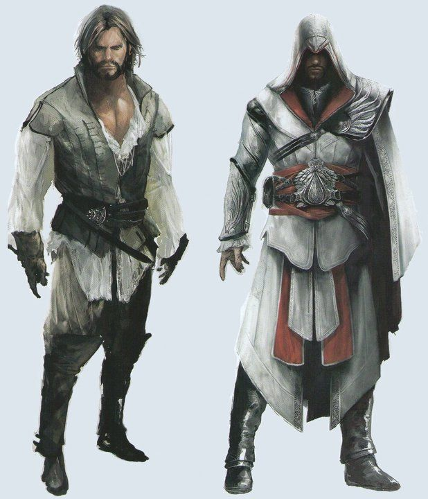 Ezio Auditore Da Firenze Assassins Creed Artwork Assassins