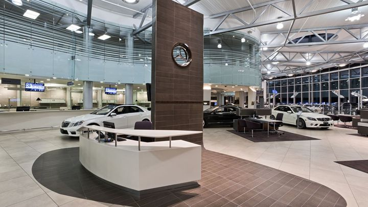 Bmw Dealerships Studio City >> Mercedes-Benz dealership by GH+A, Burlington - Canada. Visit City Lighting Products! https://www ...