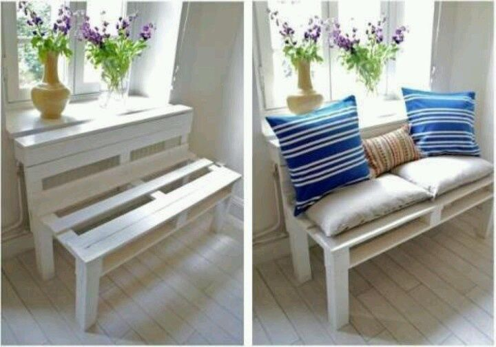 Repurposed Pallet Ideas | Pinned by Angie Spencer