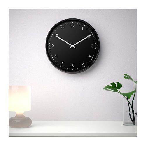 BONDIS Wall clock, black | Piece to Inc. | Pinterest | Orologio ...