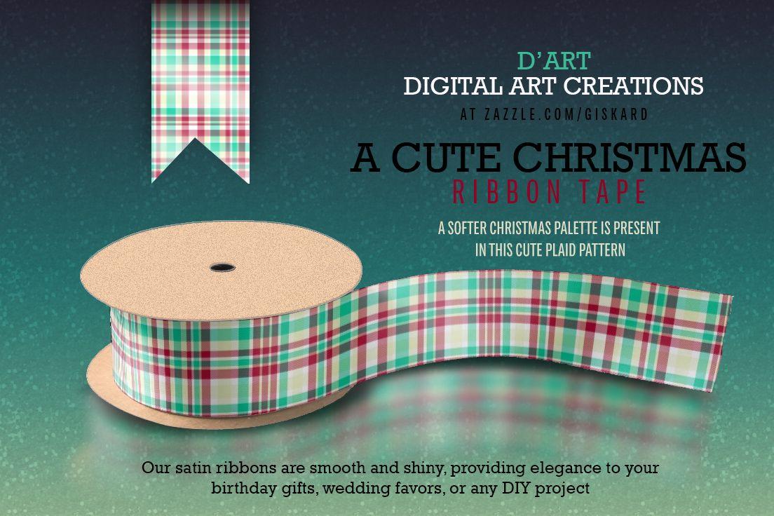 #ribbon #strip #tape #satin #christmas #xmas #christmasribbon #christmasgifts #plaid #tartan #plaidpattern #tartanpattern #holidays #christmasholidays #zazzle #zazzler #zazzleshop #digitalartcreations