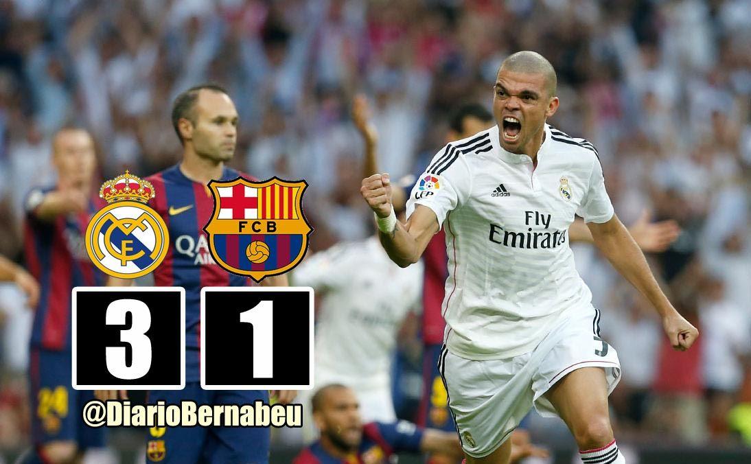 Te Contamos La Victoria Del Clasico Que Ha Enfrentado Al Realmadrid Vs Barcelona Http Www Diariobernabeu Com Resu Real Madrid Barcelona Real Madrid Fútbol