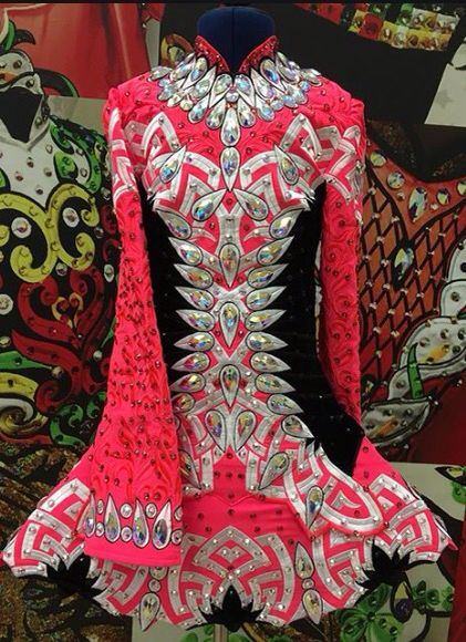d3ed56f897b   Rising Star Designs  Irish Dance Solo Dress Costume