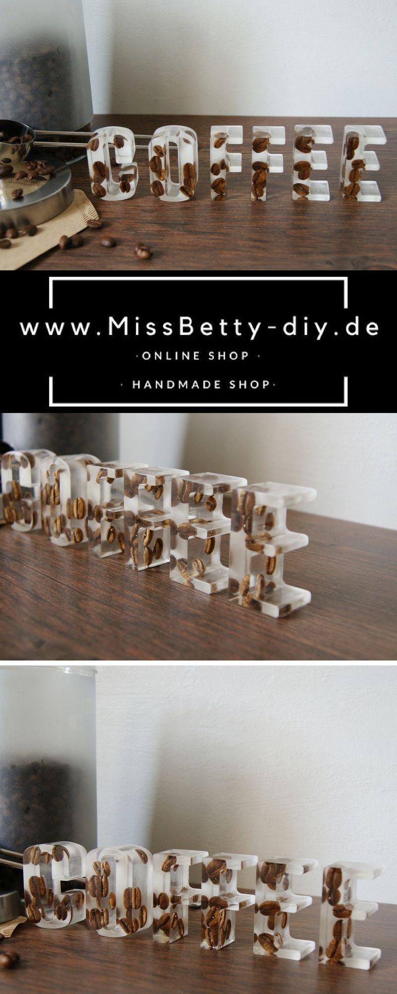Shop the Look - Deko Schriftzug für die Küche aus Gießharz ...