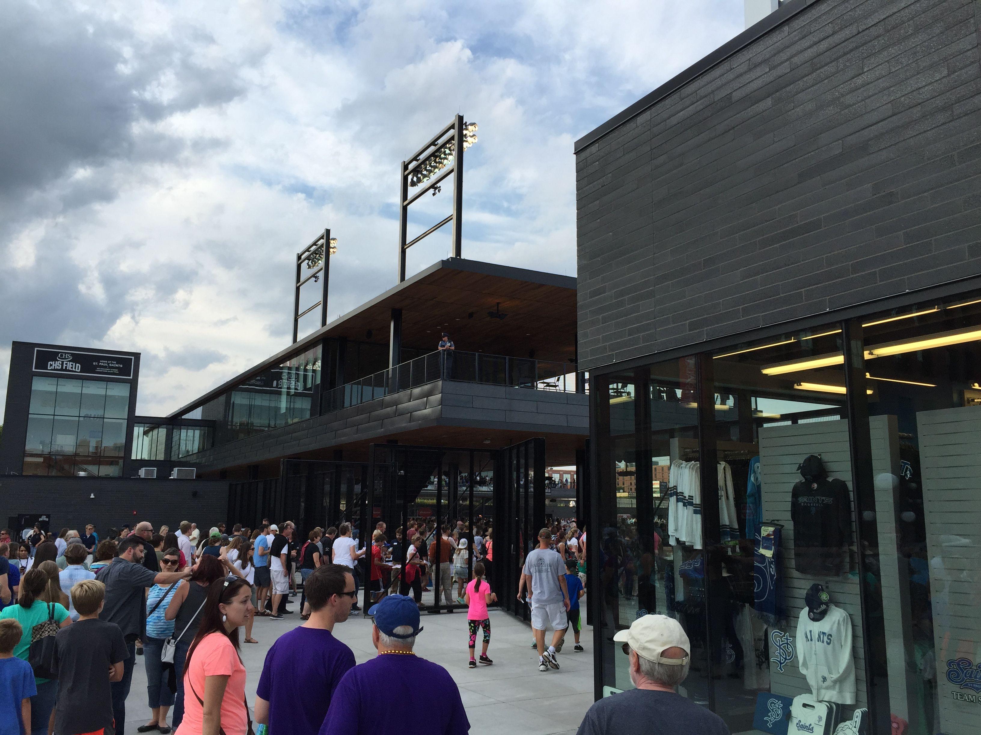 CHS Field entrance