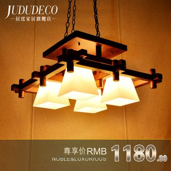 Buy Living Room Dining Chandelier Lamp Modern Chinese Japanese American Country Southeast Asian Style Wood Wooden Retro Bar In Cheap Price On Alibaba