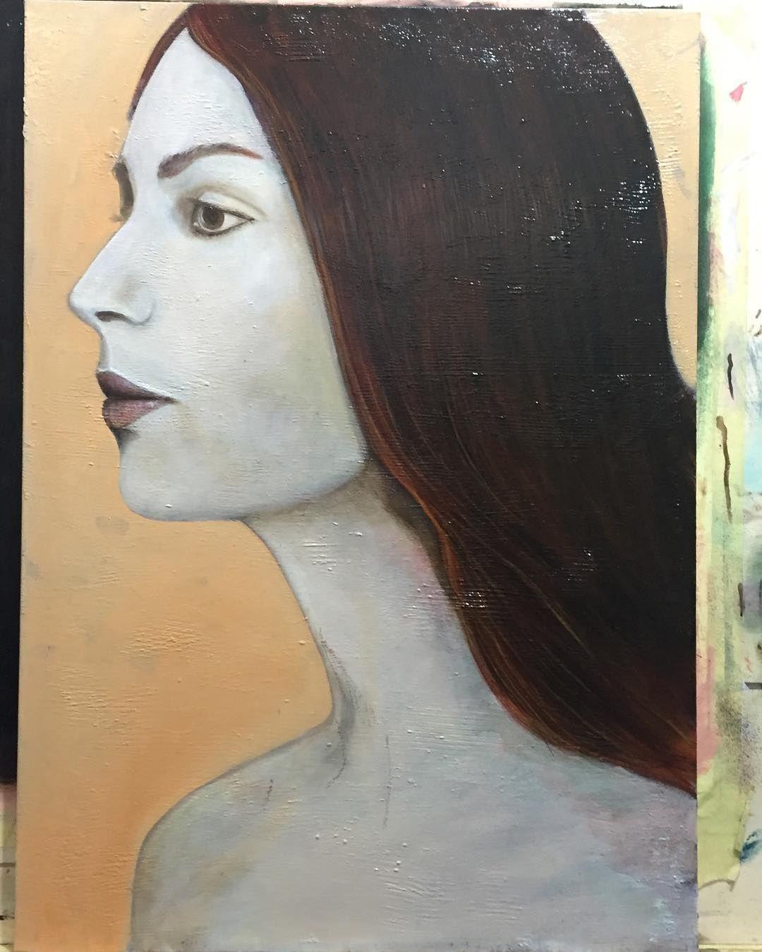 in progress... #paint #oilpainting #figure #portrait #artwork #painting #almazzaglia #beautiful