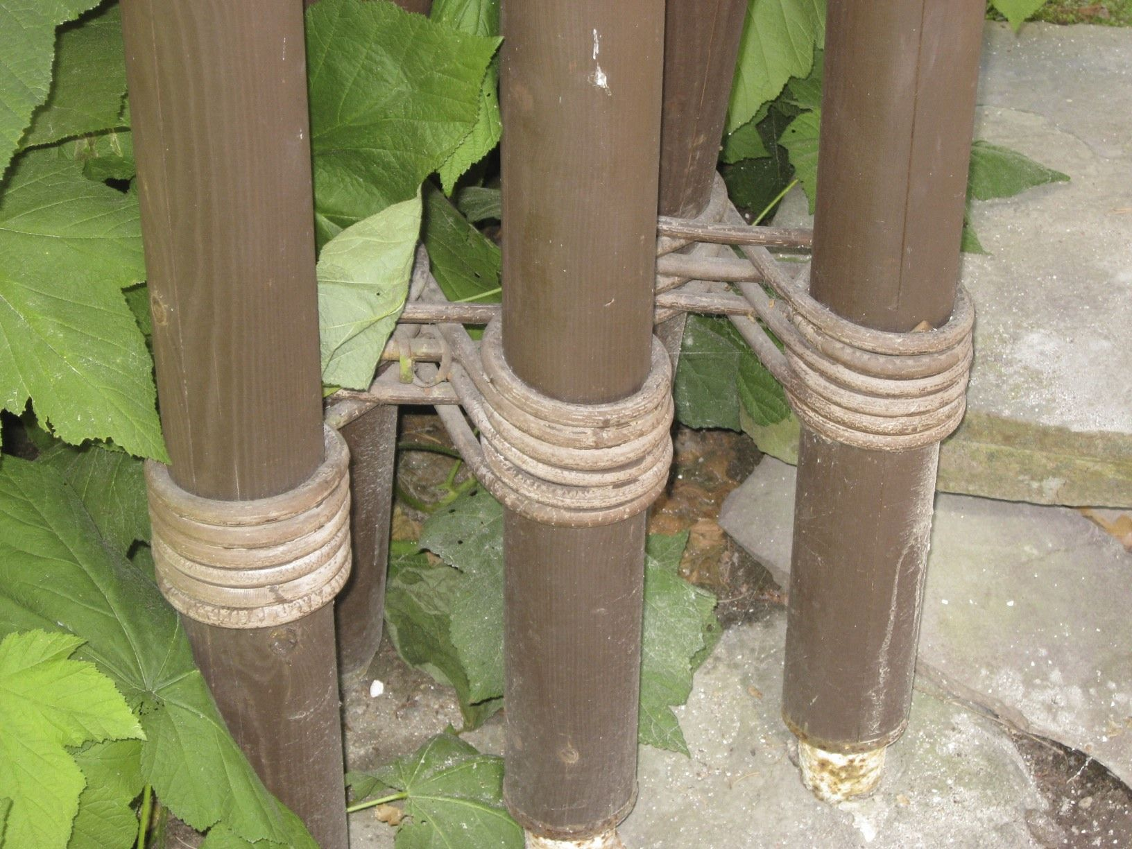 Alvar Aalto Column Detail Of Multiple Columns Tied With
