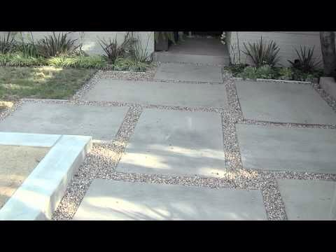 Pin by mary horan on garden pinterest patios outdoor flooring and backyard - Slab pathway design ideas ...