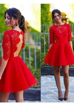 c2111867f5e Robe cocktail rouge robe de cocktail soirée