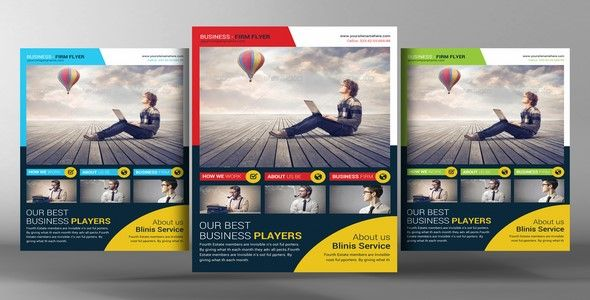 Corporate Business Flyer Template Creativemarket 95633 Aidha