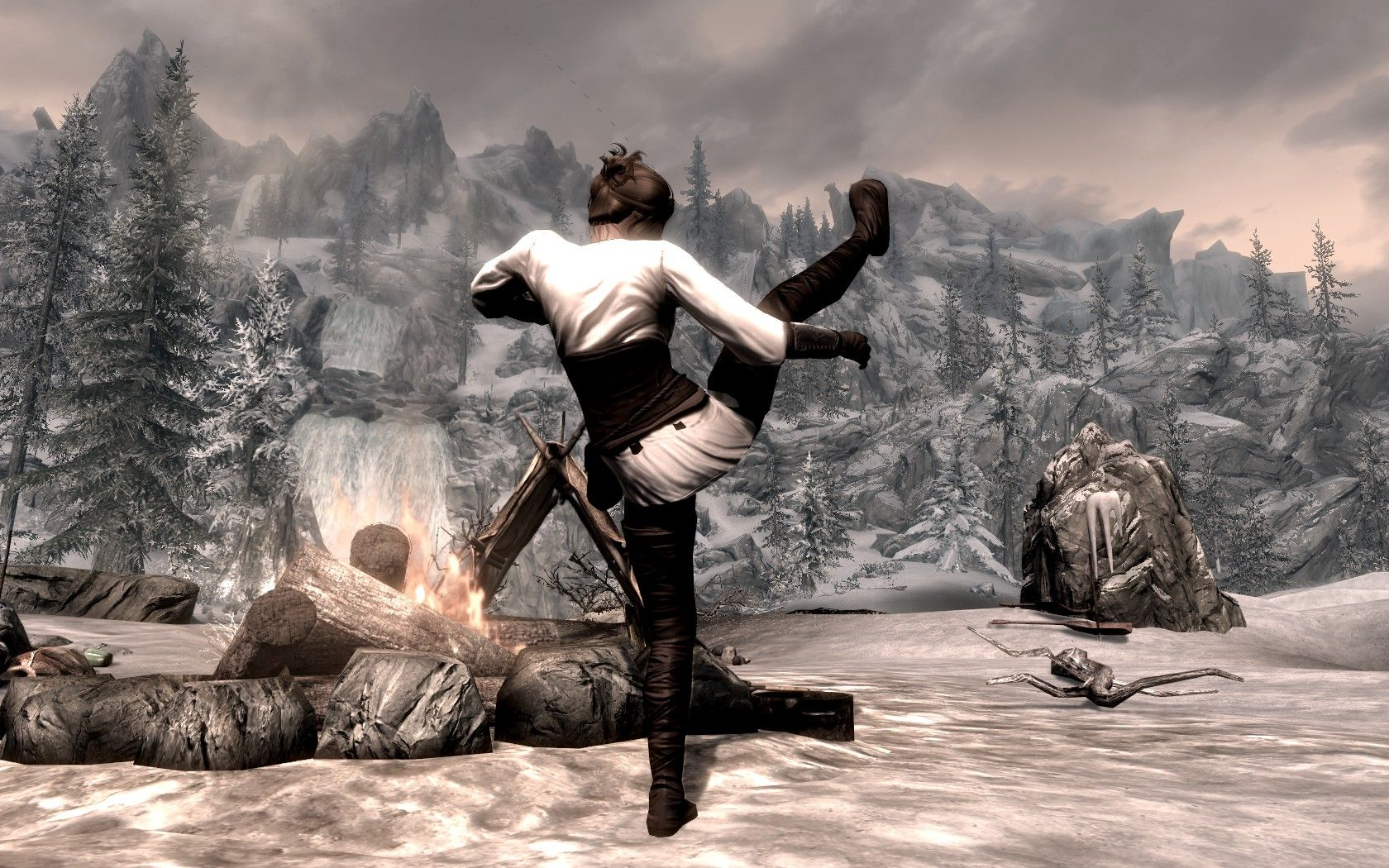 Unarmed Warfare - New Animations For Hand To Hand Combat at Skyrim