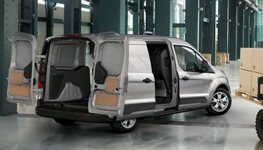 2014 Ford Transit Connect Xlt Van With Long Wheelbase In Silver