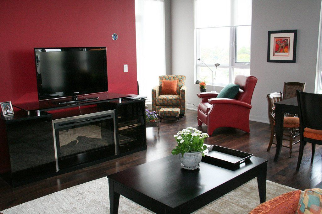 Painting Ideas For Living Room With Black Furniture Living Room With Blac Living Room Color Schemes Living Room Paint Living Room Interior Design Photo Gallery