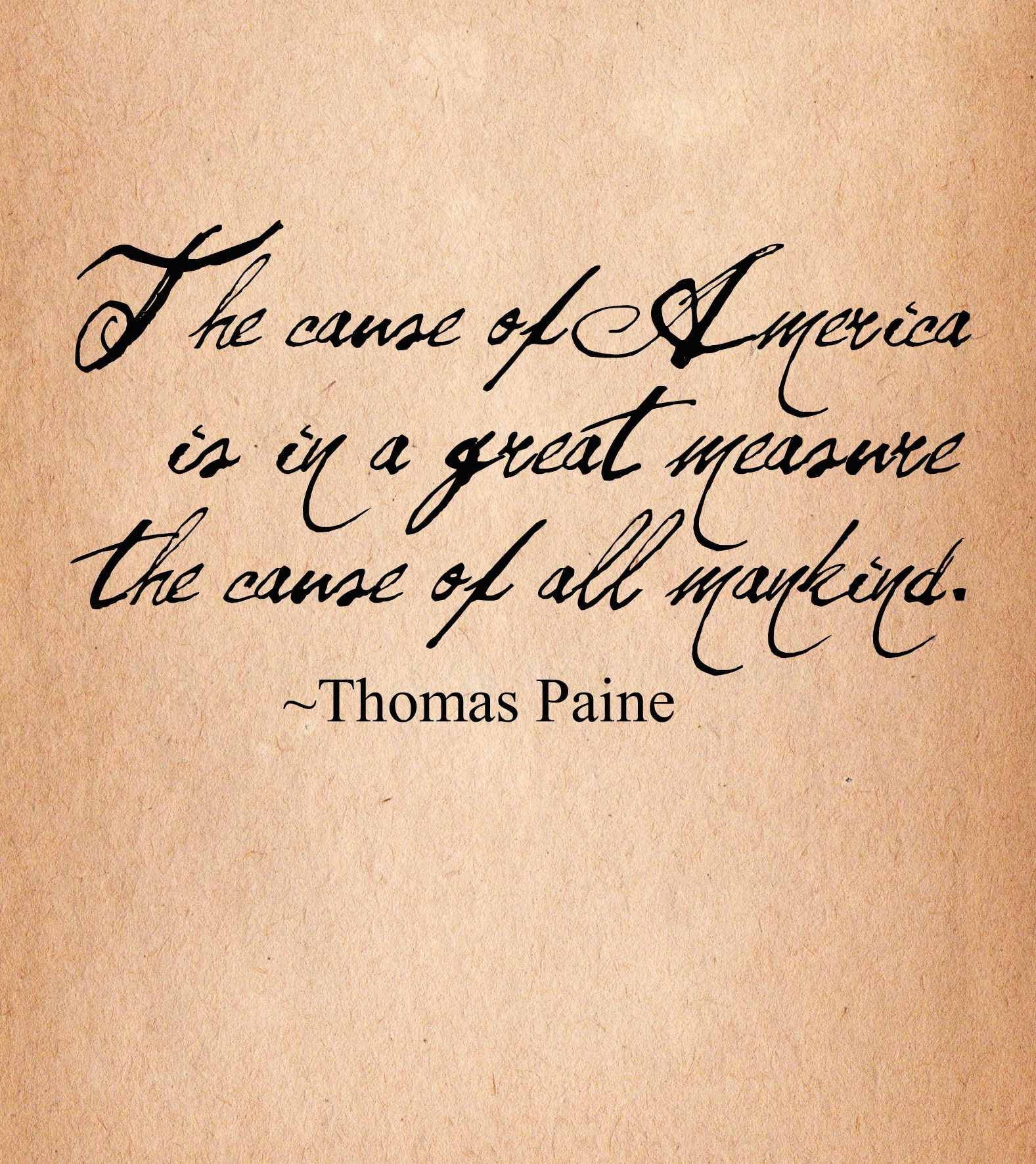 thomas paine an american philosopher essay Thomas paine (or pain february 9, 1737 [os january 29, 1736] – june 8, 1809) was an english-american political activist, philosopher, political theorist, and revolutionary one of the.