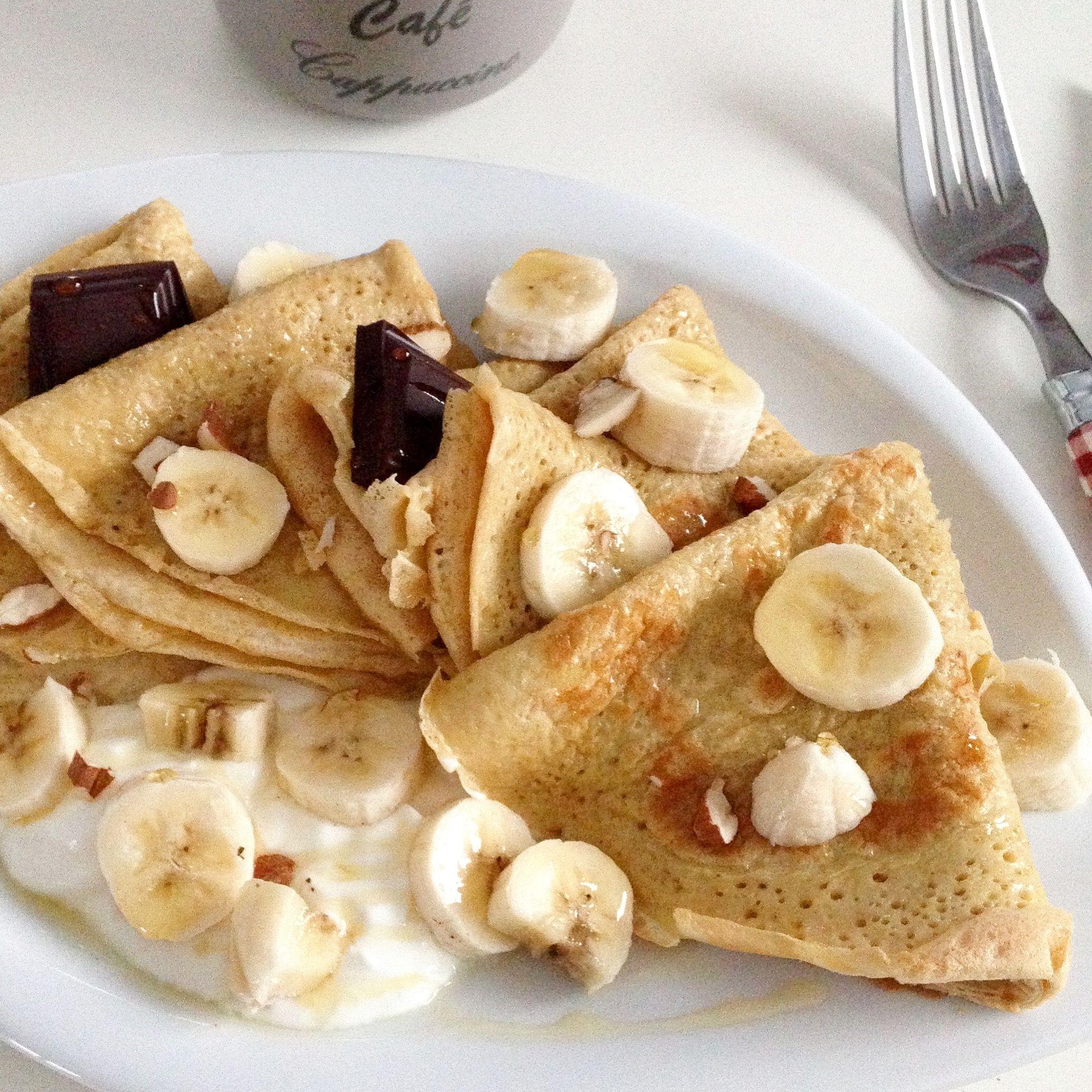 Exemple Du Jour Mi Crepe Mi Pancake Avec 50gr De Flocons D Avoine