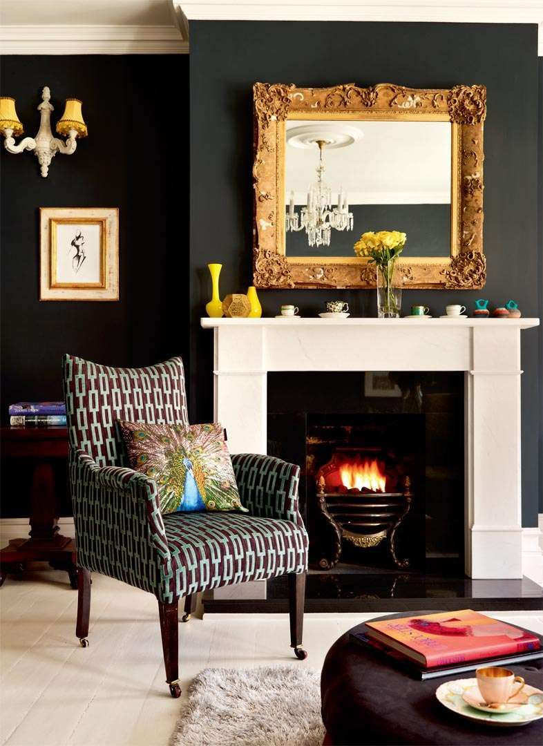 Transforming A Victorian Maisonette  Period Living  Edwardian Magnificent Victorian Living Room Decorating Ideas Design Decoration