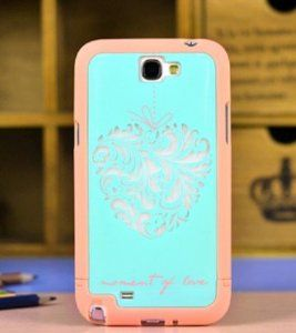 quality design bc0ad 777b2 Amazon.com: Hybrid TPU Cover/case for Samsung Galaxy Note 2 Note Ii ...