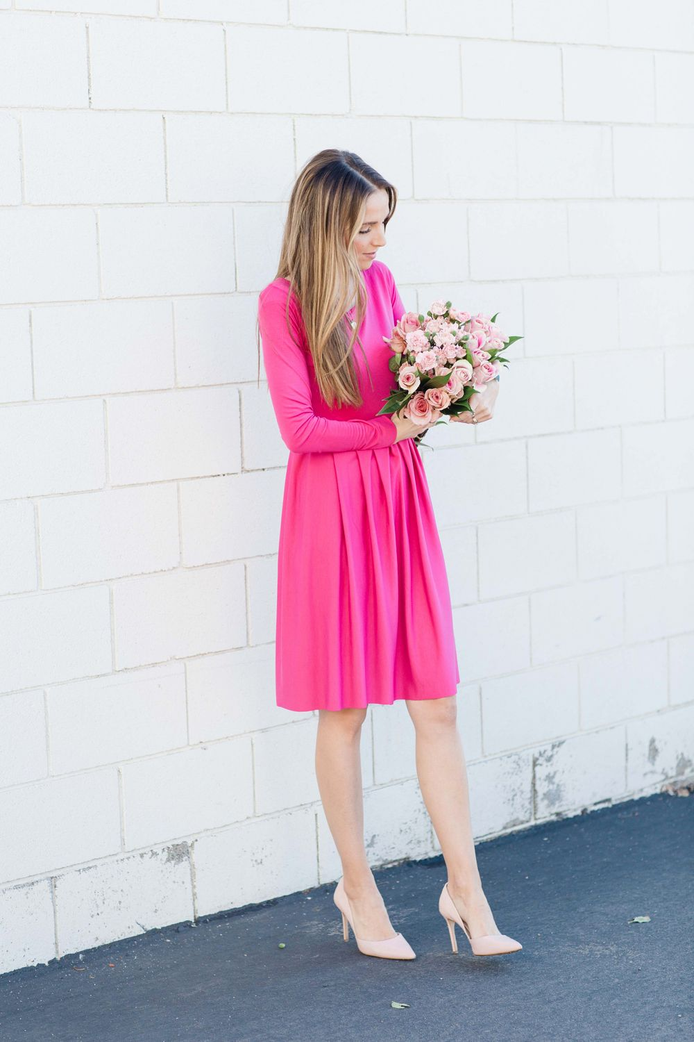 DIY Friday: Pink Knife Pleated Dress | Costura