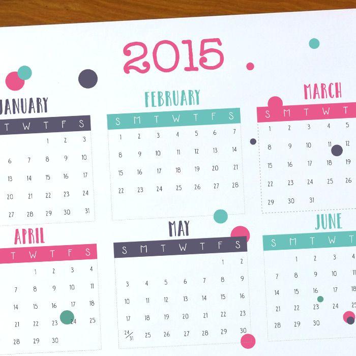 Free Printable 2015 Calendar Free Printable Free Printable