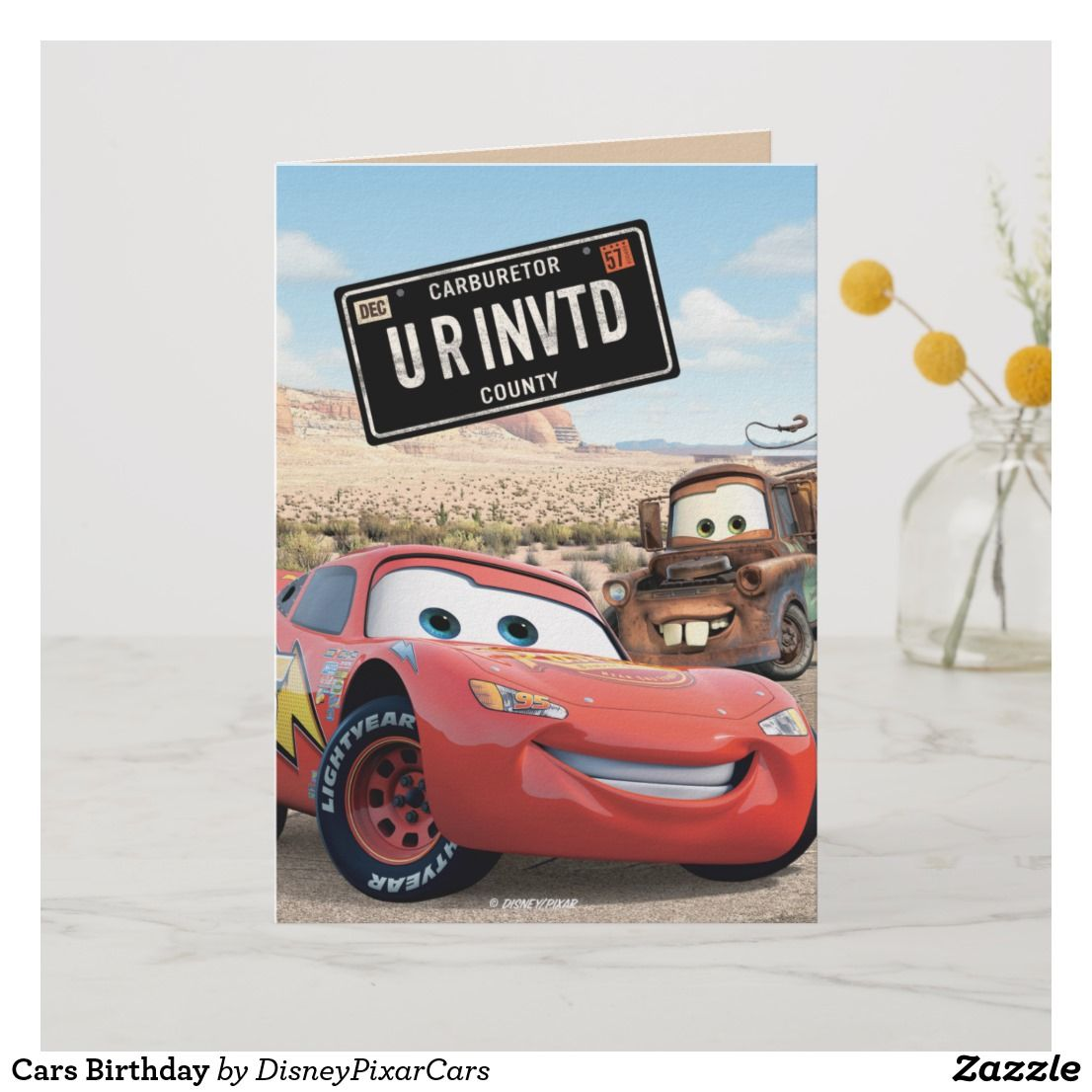Cars Birthday Invitation Looking For Great Invitations To Personalize Check Out These Beautiful Disney Each And Make