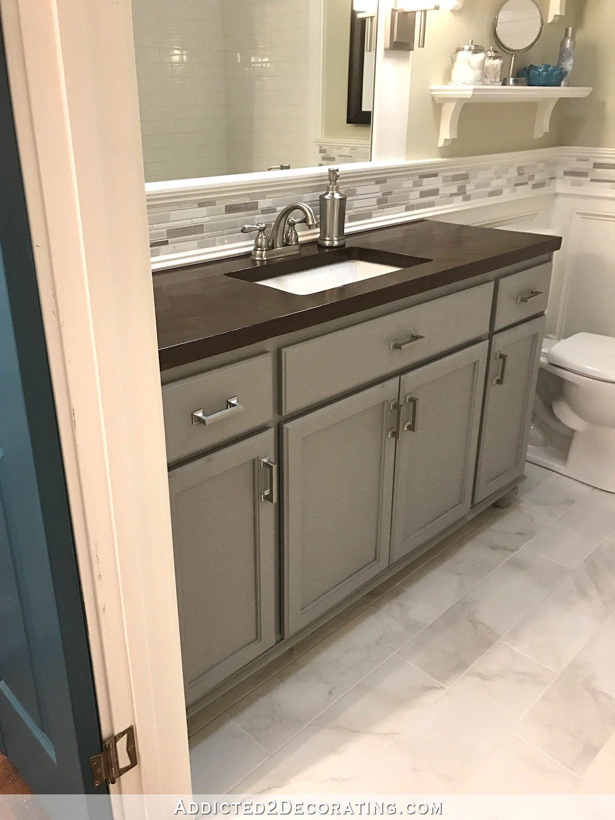 Bathroom Vanities Paint Color