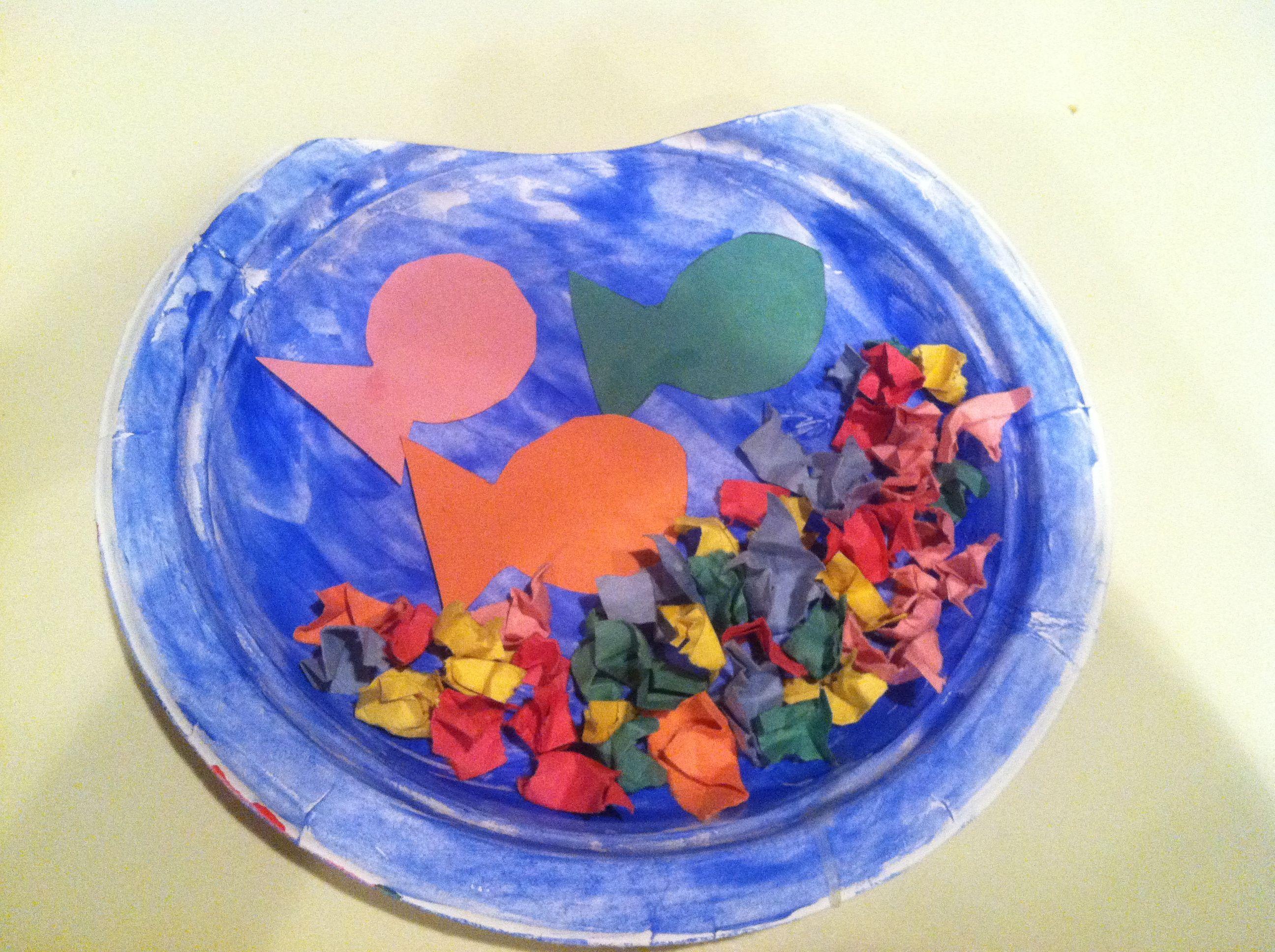 Kenzie S Paper Plate Fish Bowl