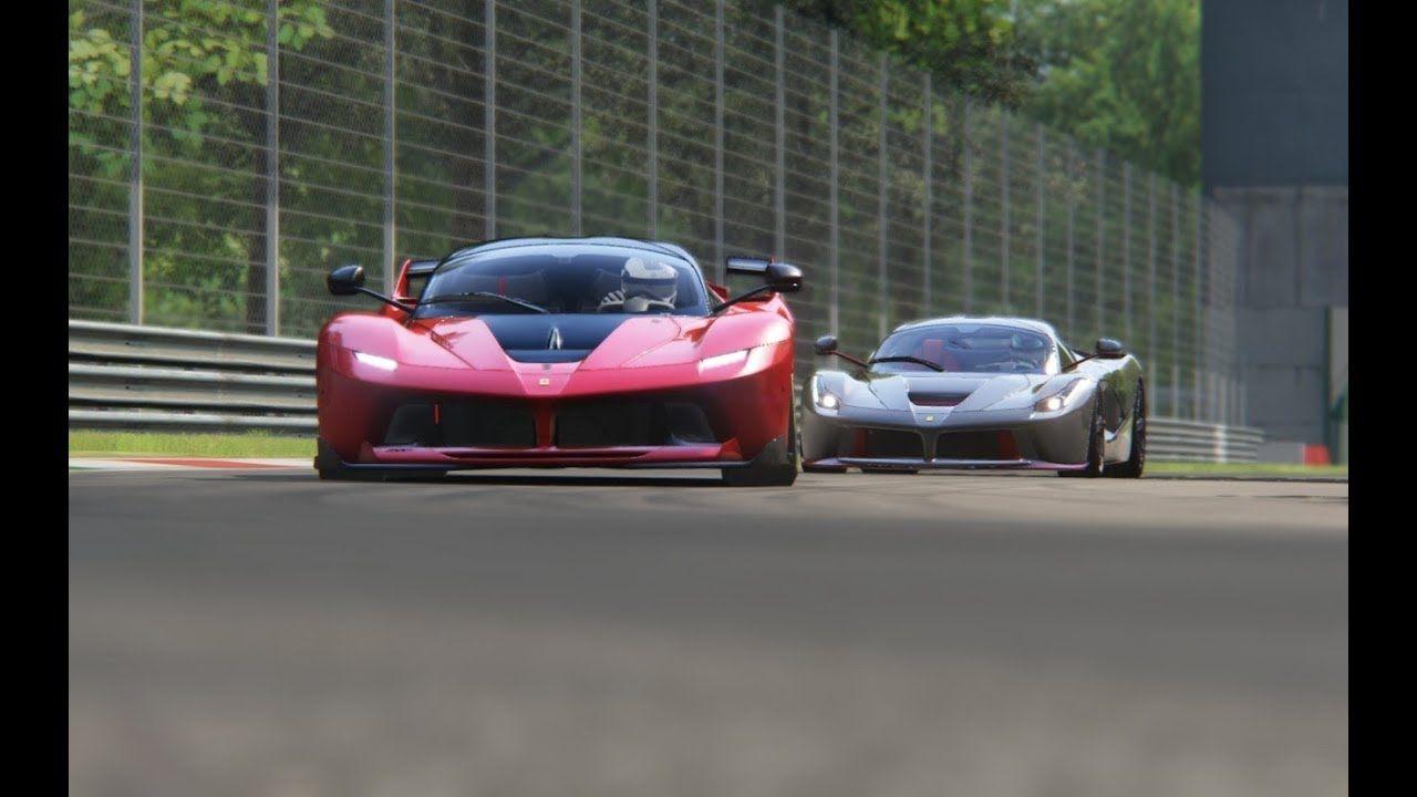 Battle LaFerrari Jalopnik vs Ferrari FXX-K at Monza Circuit #ferrarifxx