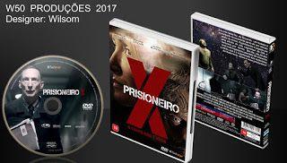 W50 Produções CDs, DVDs & Blu-Ray.: Prisioneiro X  -  Lançamento  2017