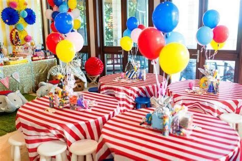 Carnival Theme Party Ideas Decorations Carnival Birthday Party Theme Circus Birthday Party Theme Carnival Party Centerpieces