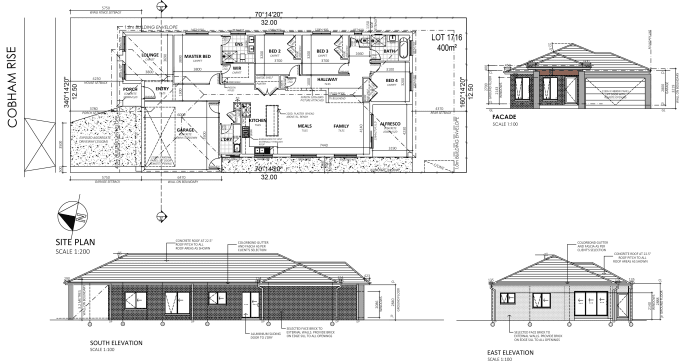 I Will Do Architectural Floor Plan Elevation Section Details In Autocad And Revit Architectural Floor Plans Inexpensive House Plans House Layout Plans
