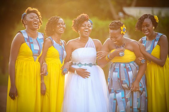 African Outfits 5 Bridesmaides Traditional Outfit That Nailed It Http Www