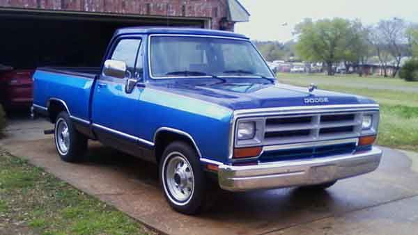 1990 Dodge Ram D150 Dodge Pickup S 1970 71 With 1972 1993