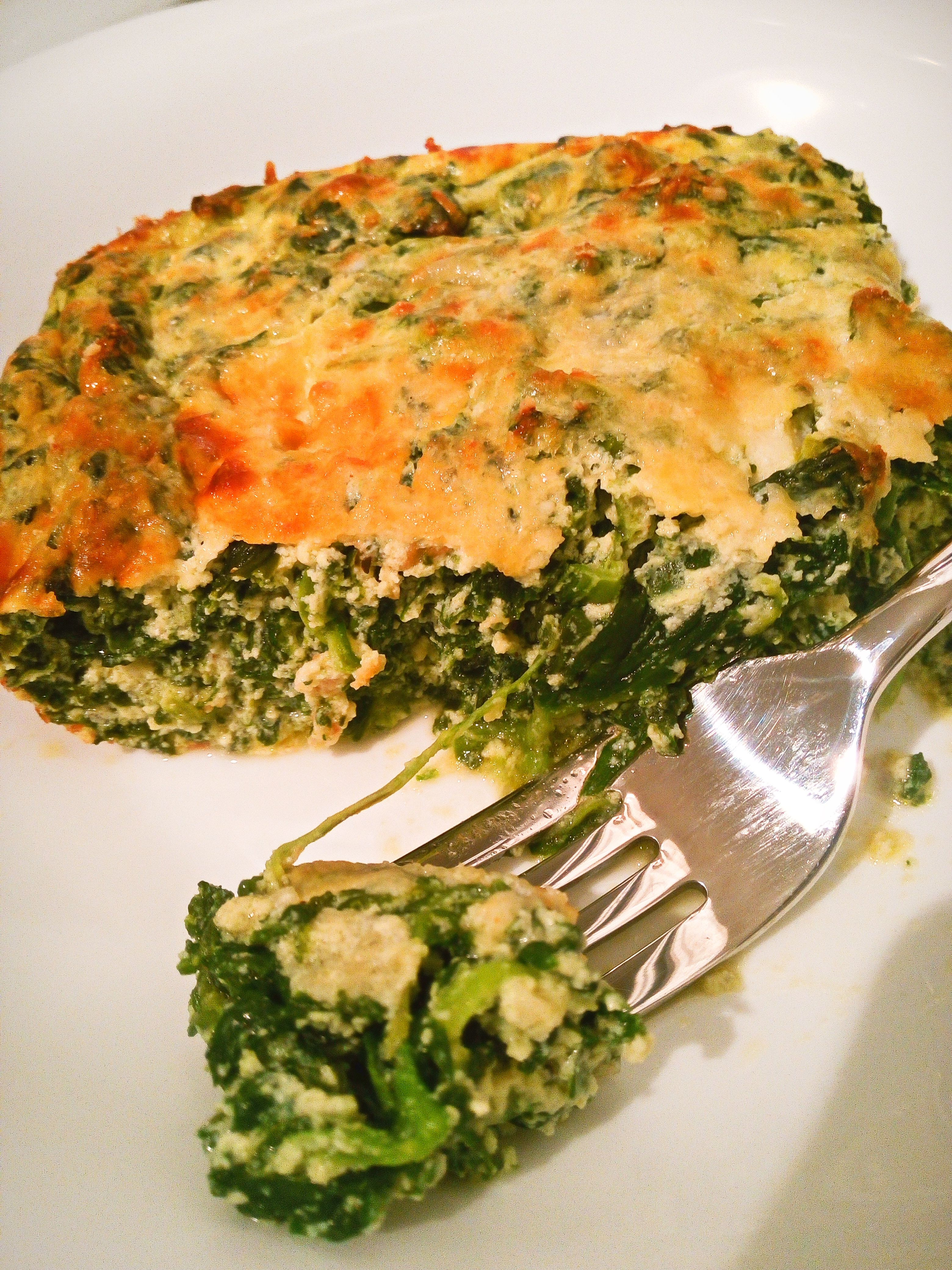 Low Carb Spinach And Ricotta Bake