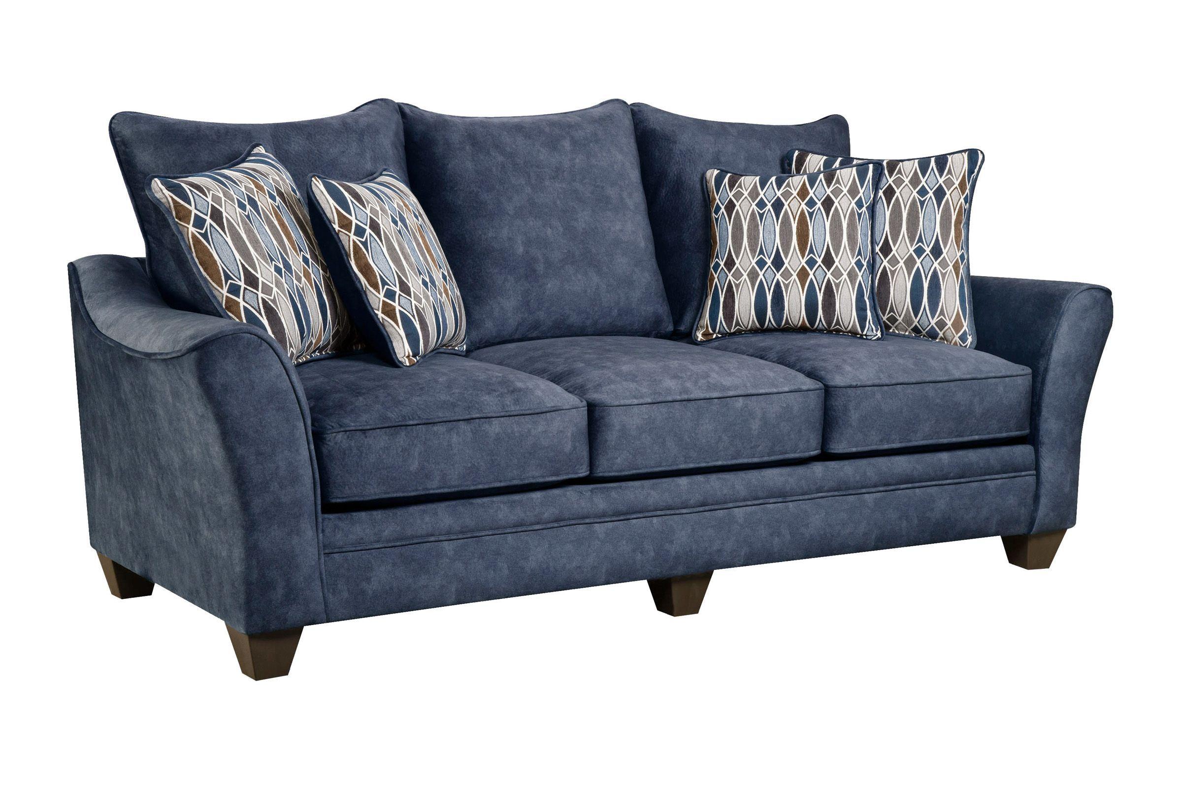 Neece Sofa in 2019 | Products | Sofa, Navy sofa, Gray sofa