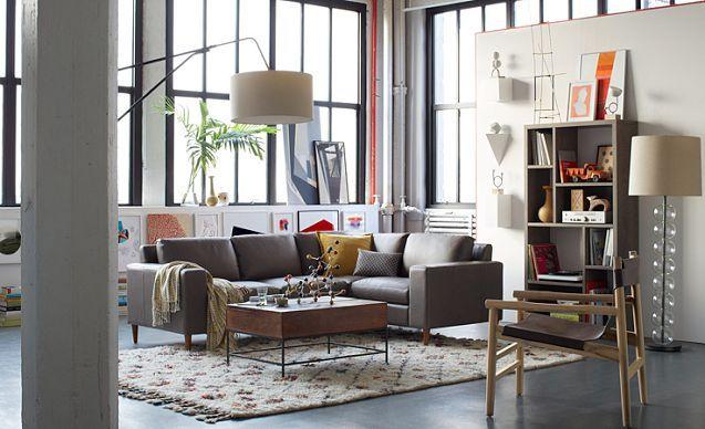 I Love The West Elm Lofty Retreat Living Room On Westelm Ideas